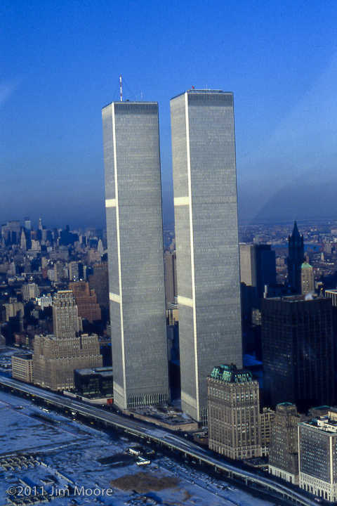 Photograph i took from a helicopter during the construction of the