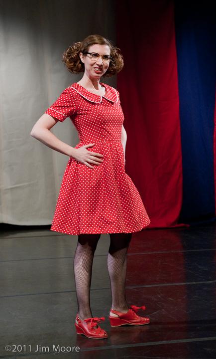 Carol Lee Sirugo performing at Triskelion Arts