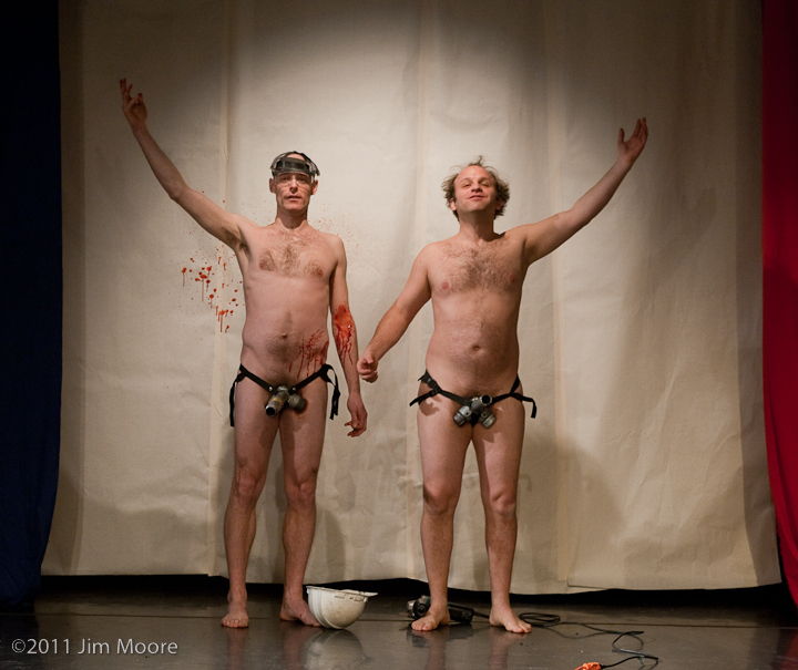 John Leo and Andy Sapora performing at Triskelion Arts