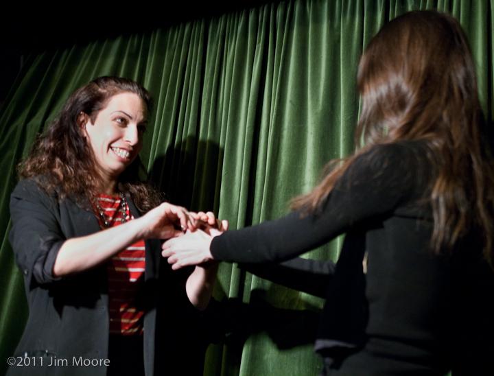 Tanya Solomon performs at 'tinydangerousfun'.