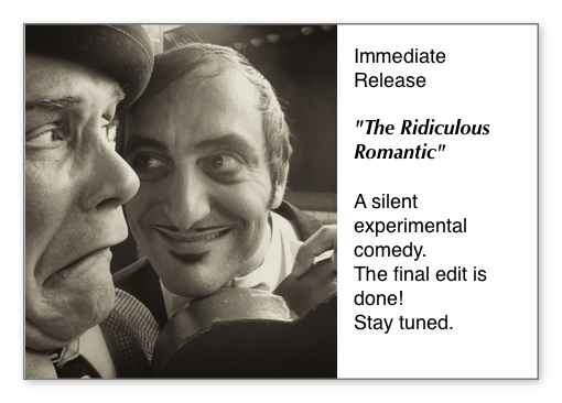 Peter Daniel Straus and Kevin C. Carr in the Ridiculous Romantic
