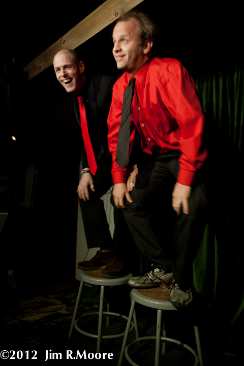 'tinydangerousfun' Variety show hosts John Leo and Andy Sapora