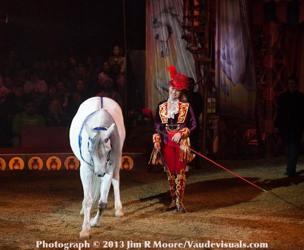Jenny Vidbel and her Liberty Horses