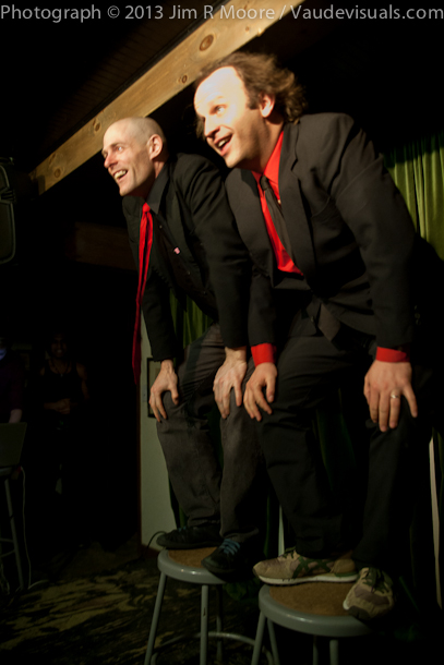 John Leo and Andy Sapora hosting 'tinydangerousfun'.