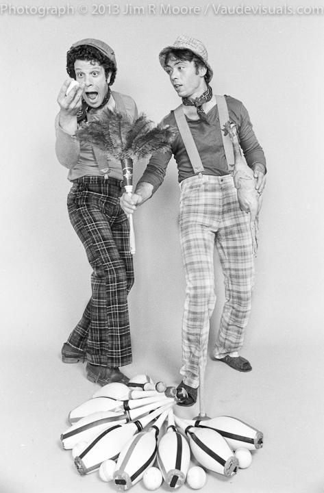 Paul Binder and Michael Christensen of the Big Apple Circus
