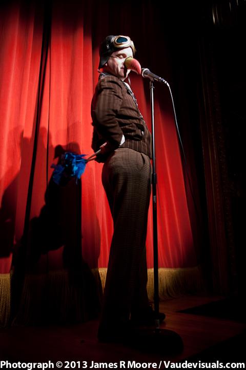 "Adam Kuchler as his ""Bird"" character"