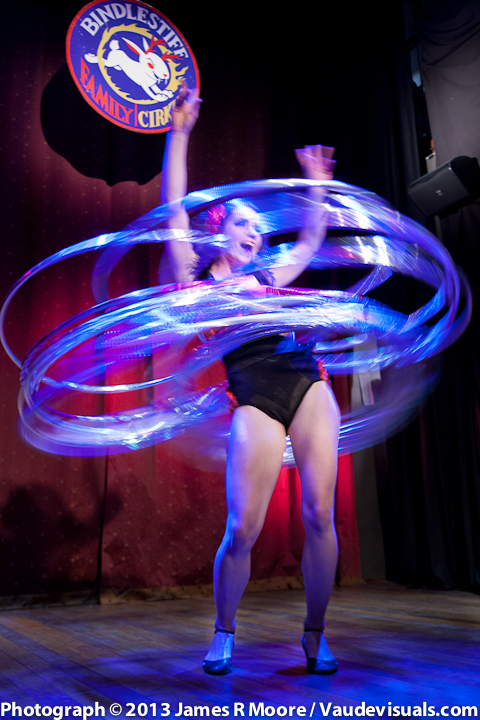 Malia Walsh is magnificent with the Hula Hoops