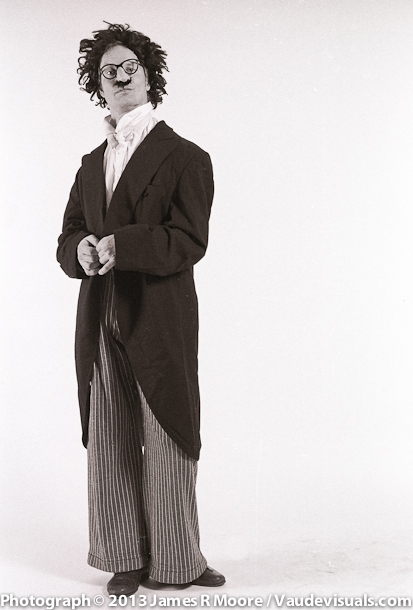 Bill Irwin photographed by Jim Moore