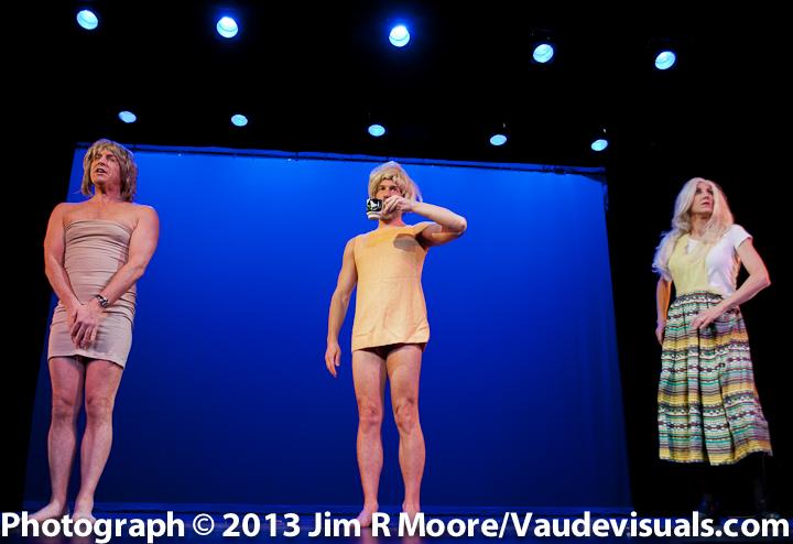 Unitard Comedy group performing at Avant Garde Arama