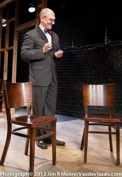 """Joel Jeske performing his """"Five Waiters"""" routine."""