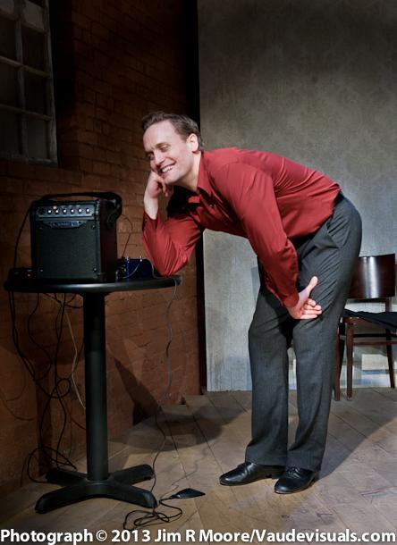 "Danny Gardner performs ""Man and Machine""."