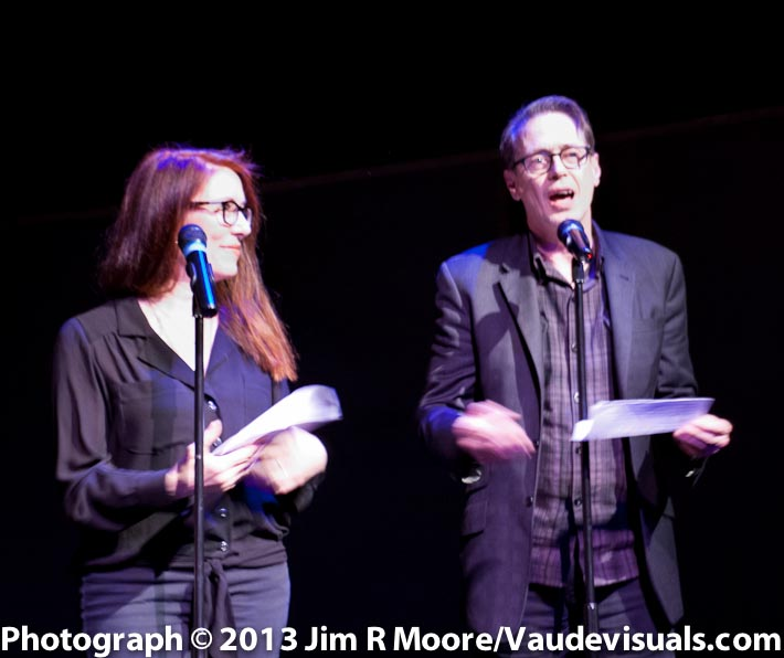 Jo Andres and Steve Buscemi present the award to ANIMALS.