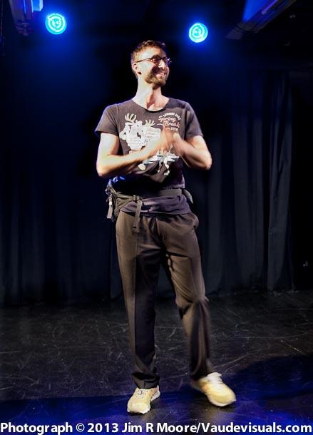 Billy Schultz introduces the MC