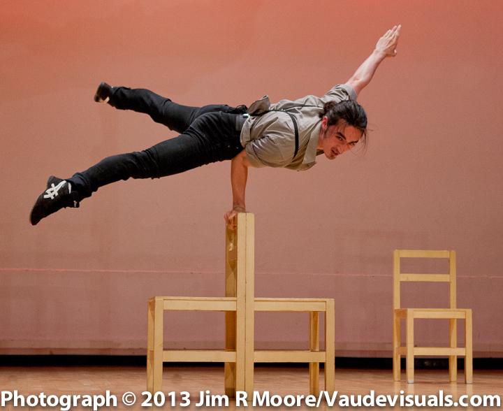 Ryan Shinji Murray performing at JUGGLE THIS