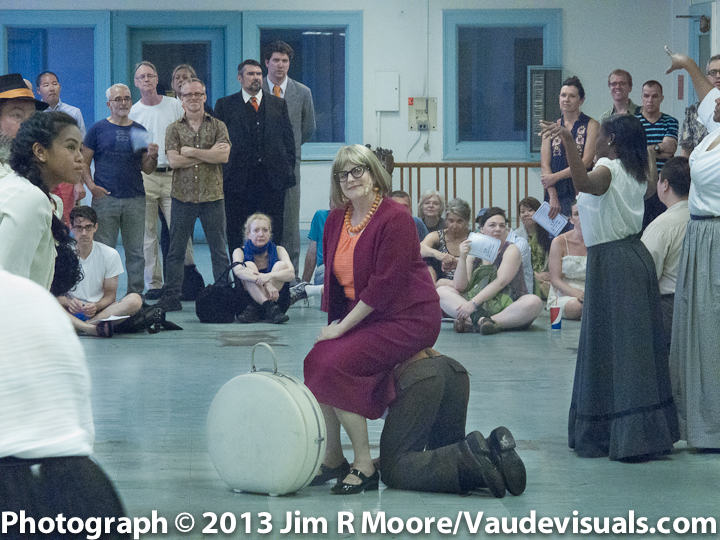 Catherine Porter as Jane Jacobs in Manna-Hata