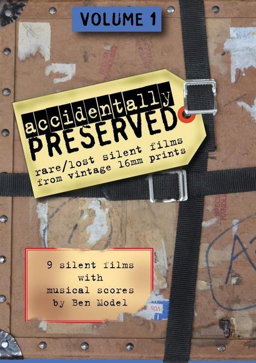 Accidentally Preserved DVD Cover