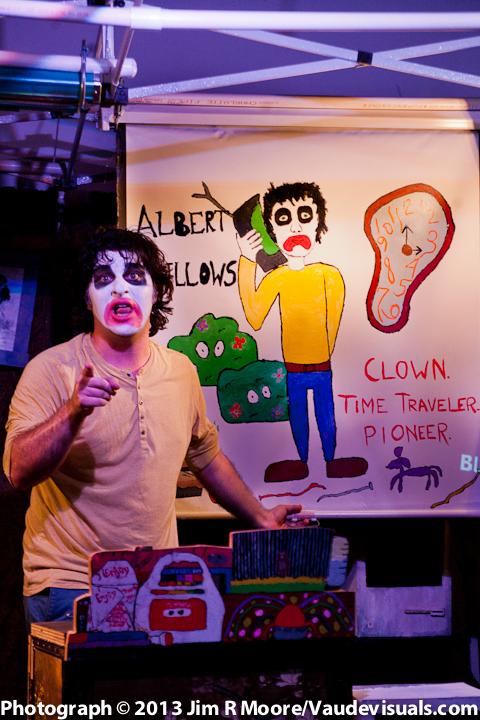 Zach Dron plays Albert Bellows in the show.
