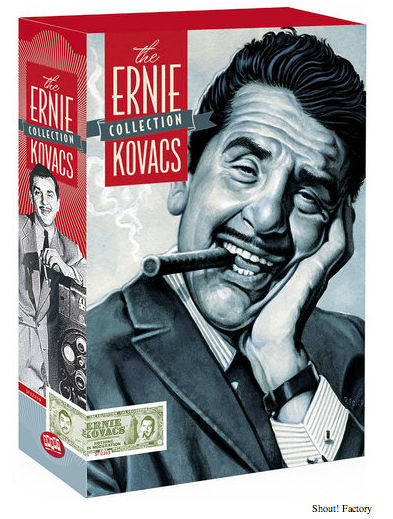 Shout Factory presents Ernie Kovacs DVD set
