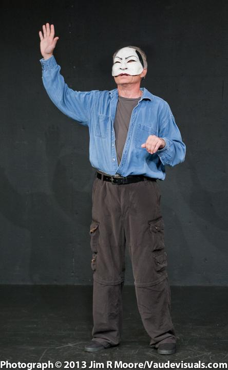 David Gaines performs his SEVEN SUMURAI piece.