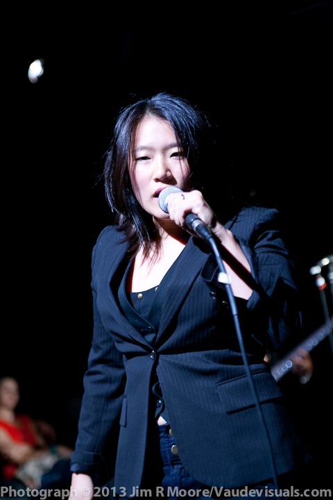 Diana Oh was the 'leading lady' in this group of rockin musicians.