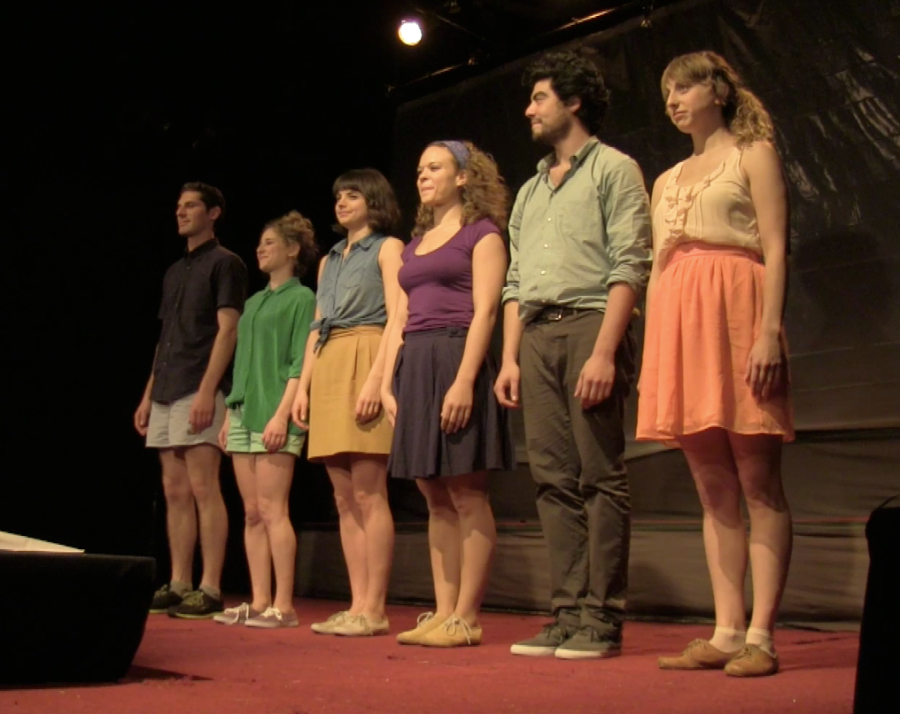 Curtain Call for cast members of the.humanest