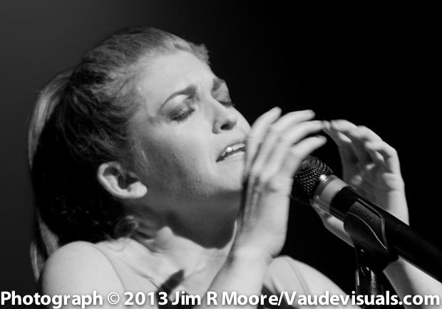 Erin  Markey performing at Dixon Place