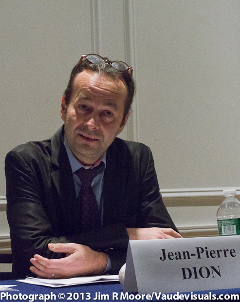 Jean-Pierre Dion is the Cultural Attache of the Quebec Government Office