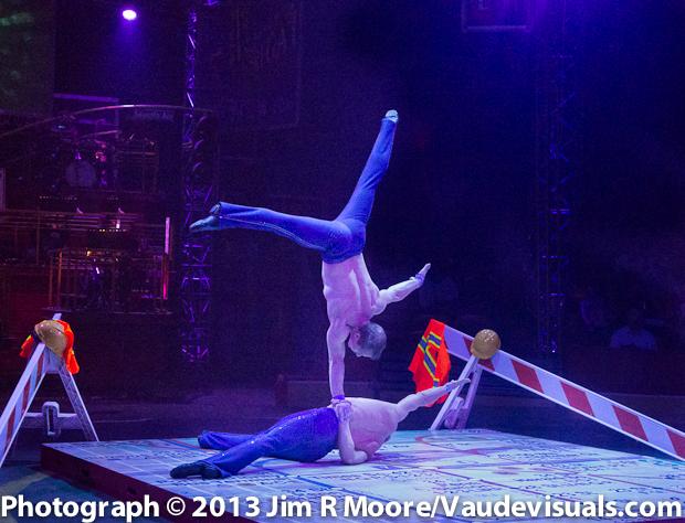 Acro Duo at The Big Apple Circus