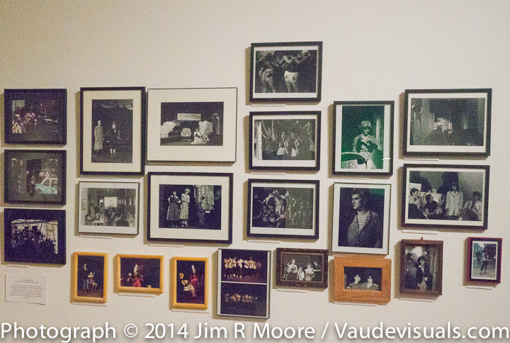 Photographs on display at LaMama Galleria