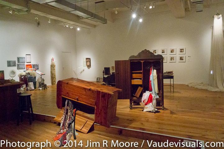 Desperate Archives exhibit at LaMama Galleria