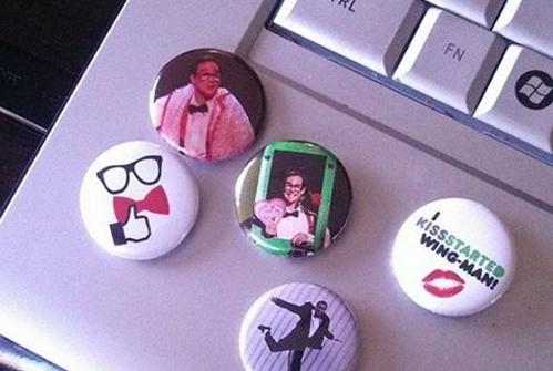 WINGMAN Mark Gindick buttons