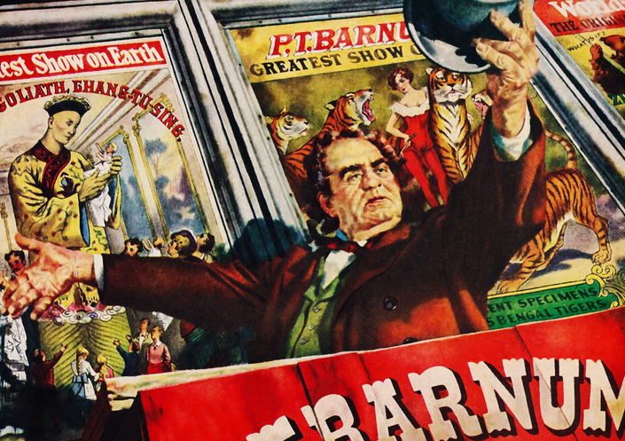 P.T Barnum - Greatest Showman