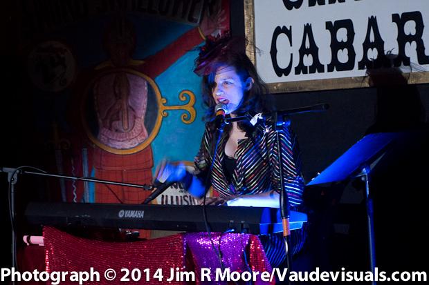 Sabrina Chap provided a wonderful evening of music.