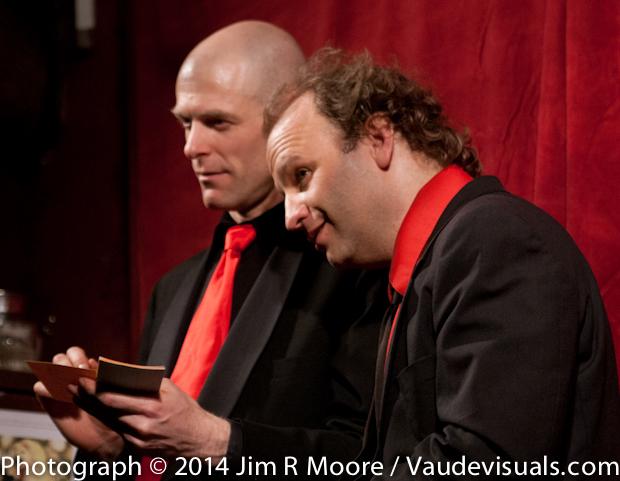 John Leo and Andy Sapora at 'tinydangerousfun'.