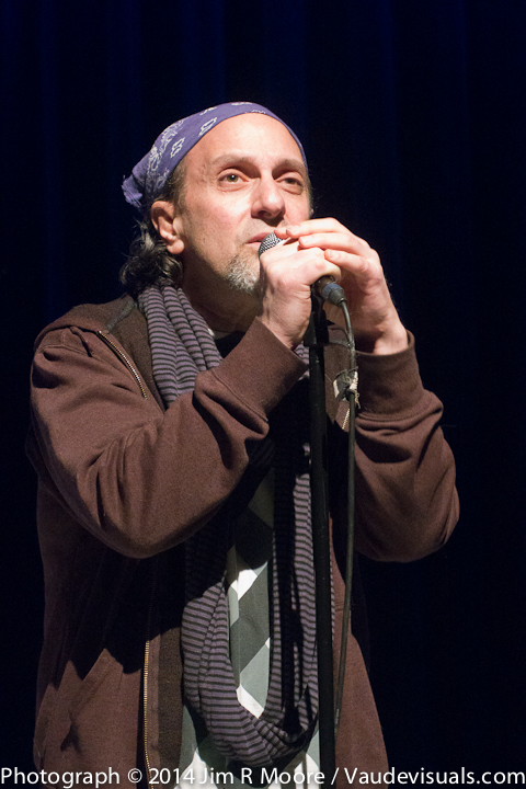 Lee Sachs performs at Dixon Place
