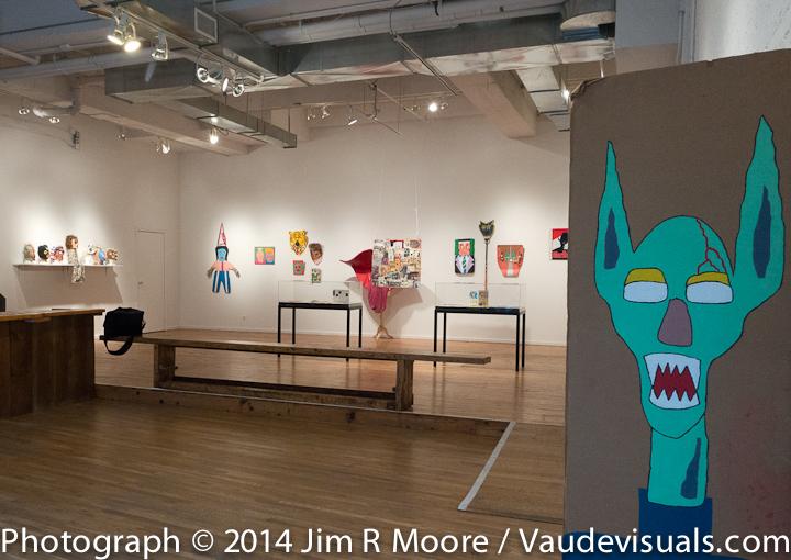 Tom Murrin Art show at LaMama