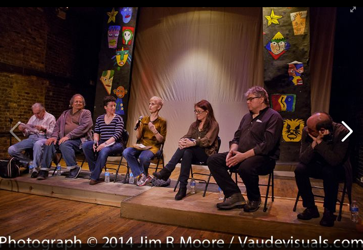 Panel Discussion at LaMama on Tom Murrin