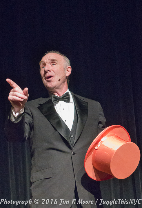 Michael Davis performing at Juggle This Show Spectacular.