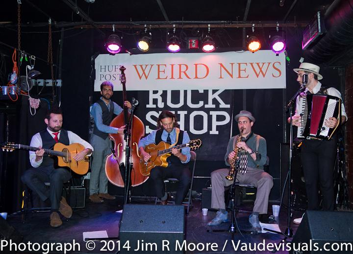 The Bailsmen performing at The Rockshop.