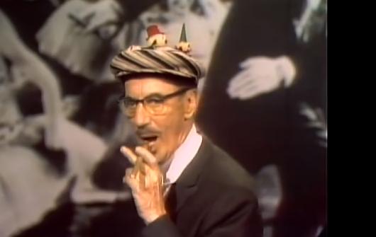 Grocuho Marx on Dick Cavett show