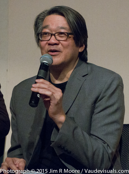 Alvin Eng speaking at Coffeehouse Chronicles