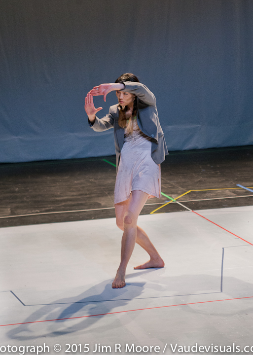 Megumi Eda dances at LaMama