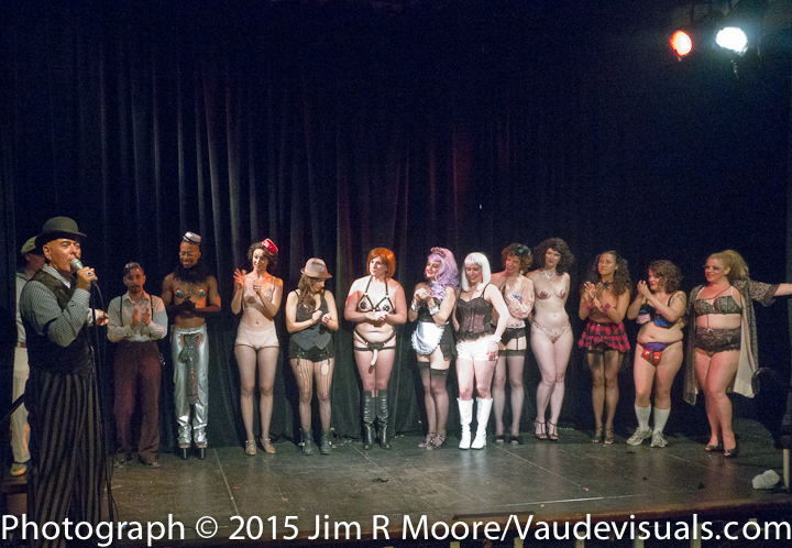 Curtain Call at Hotel Tryst show.