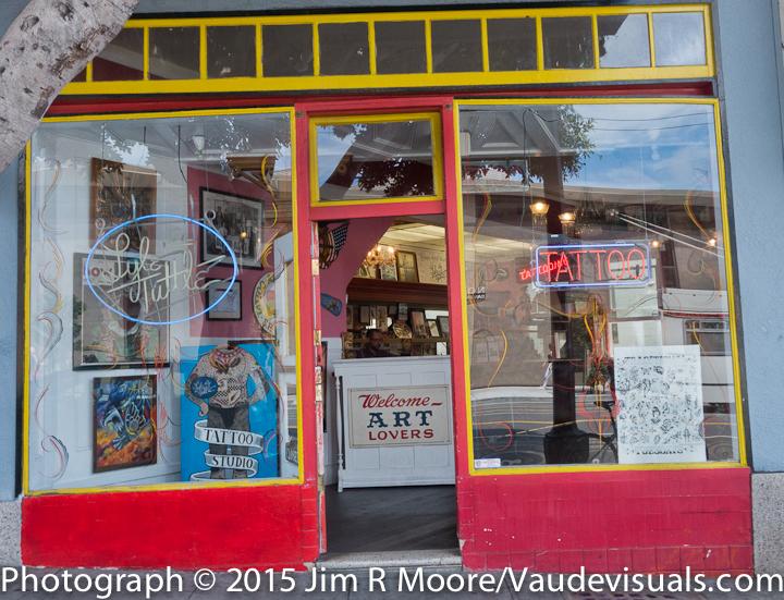 Lyle Tuttle's tattoo shop