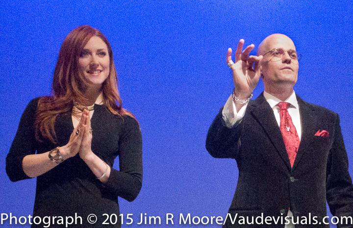 Eric Walton and Rachel Jessee were amazing in their mentalist skills.
