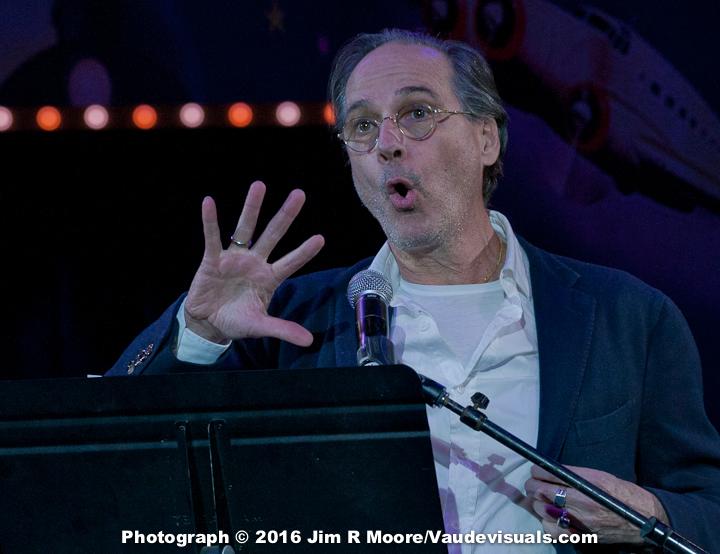 David Shiner presents the Evolving Circus Award.