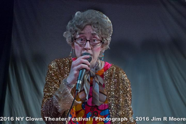 Fantasy Grandma at the NY Clown Theater Festival
