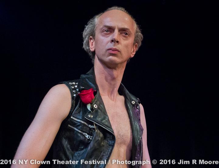 Ambrose Martos at NY Clown Theater Festival