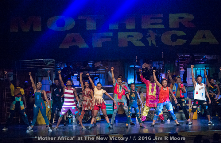 Mother Africa at New Victory