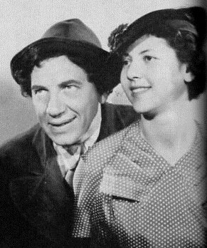Chico and Maxine Marx